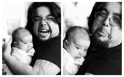 Zac and Emma (diptych)