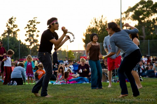 Glen Iris / Outdoor Cinema Food Fest (August 21, 2011) © 2011 Michael Kang