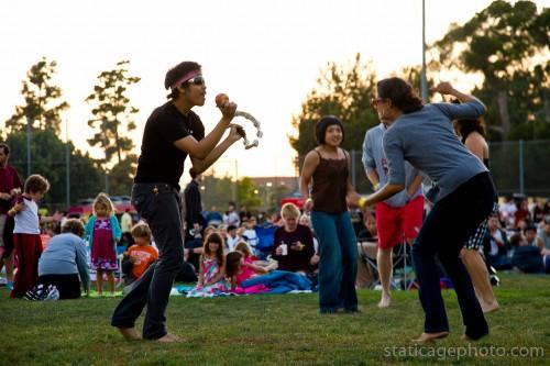 Glen Iris / Outdoor Cinema Food Fest (August 21, 2011) © 2011 Michael Kang