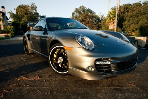 "The Star of ""Race for Love"" a 2011 Porsche 911 Turbo S"